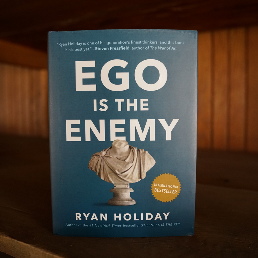 Ego Is the Enemy (signed edition)