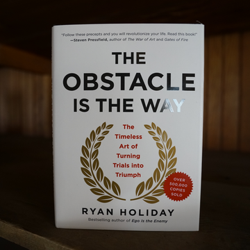 The Obstacle Is the Way (signed edition)