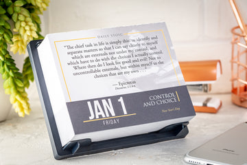 Daily Stoic 2021 Page-A-Day Desk Calendar