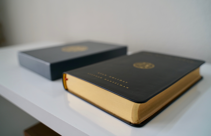 The Daily Stoic (Premium Leather Edition Book)