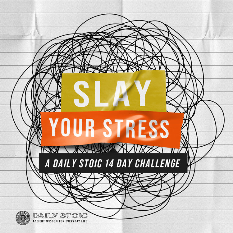 Slay Your Stress:  A Daily Stoic 14 Day Challenge