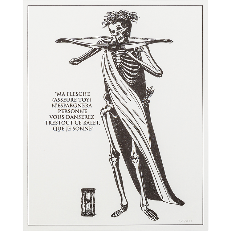 The Dance of Death Print