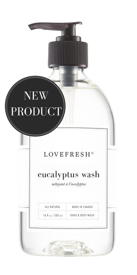 Lovefresh Eucalyptus Hand & Body Wash