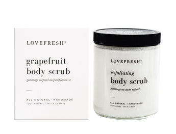 Lovefresh Grapefruit Sugar Scrub