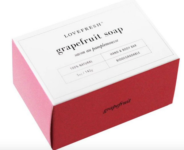 Grapefruit bar soap