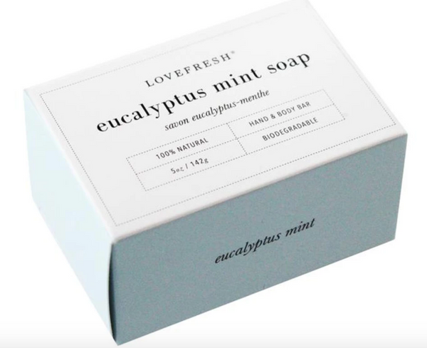 Eucalyptus-mint bar soap