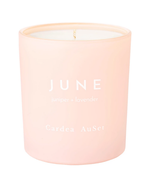 JUNE Juniper + Lavender Candle