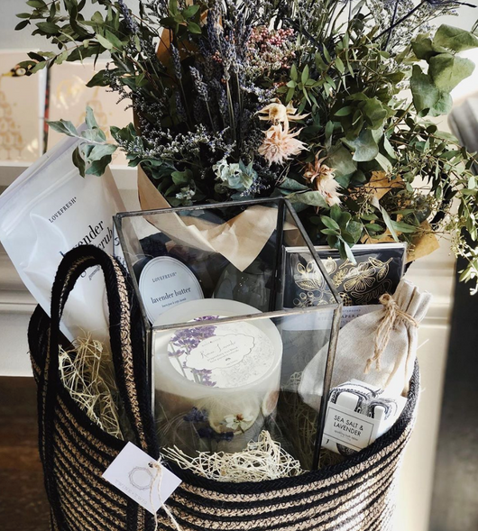Dried bouquet x Gift Tote