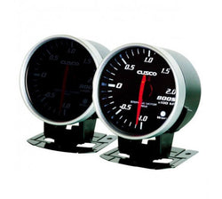 CUSCO 60MM BOOST GAUGE - 2.0KPA - UNIVERSAL