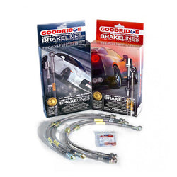 86 Braided Brake Line kit