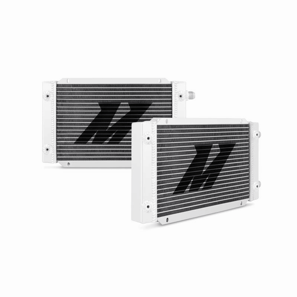 MISHIMOTO 19-ROW DUAL PASS OIL COOLER - UNIVERSAL