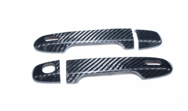 CARBON FIBRE DOOR HANDLE COVERS