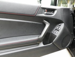 86 CARBON FIBRE DOOR HANDLE COVERS
