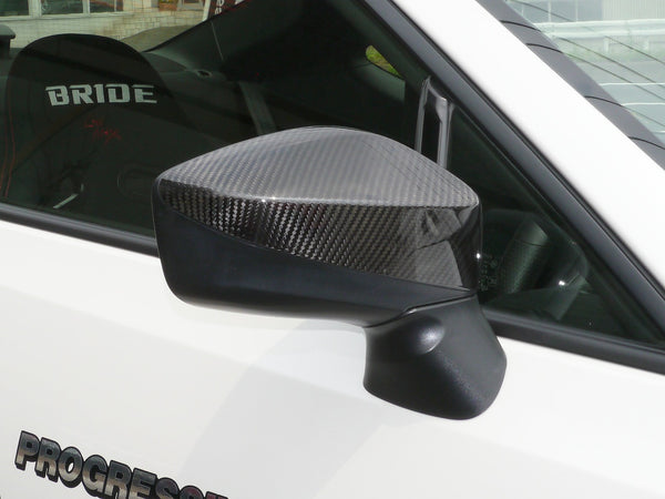 CARBON FIBRE WING MIRROR COVERS 1