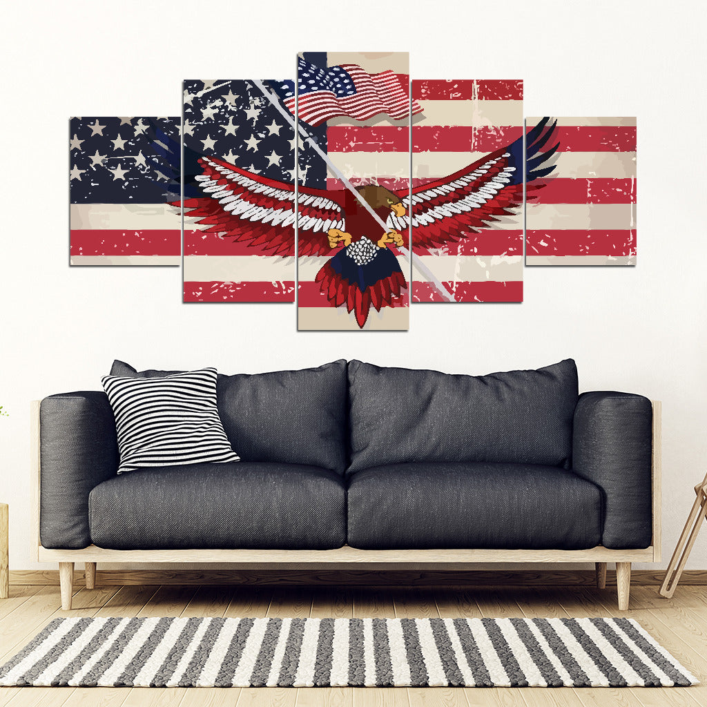 Memorial day Framed Canvas