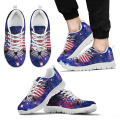 Cat galaxy Men's Sneakers