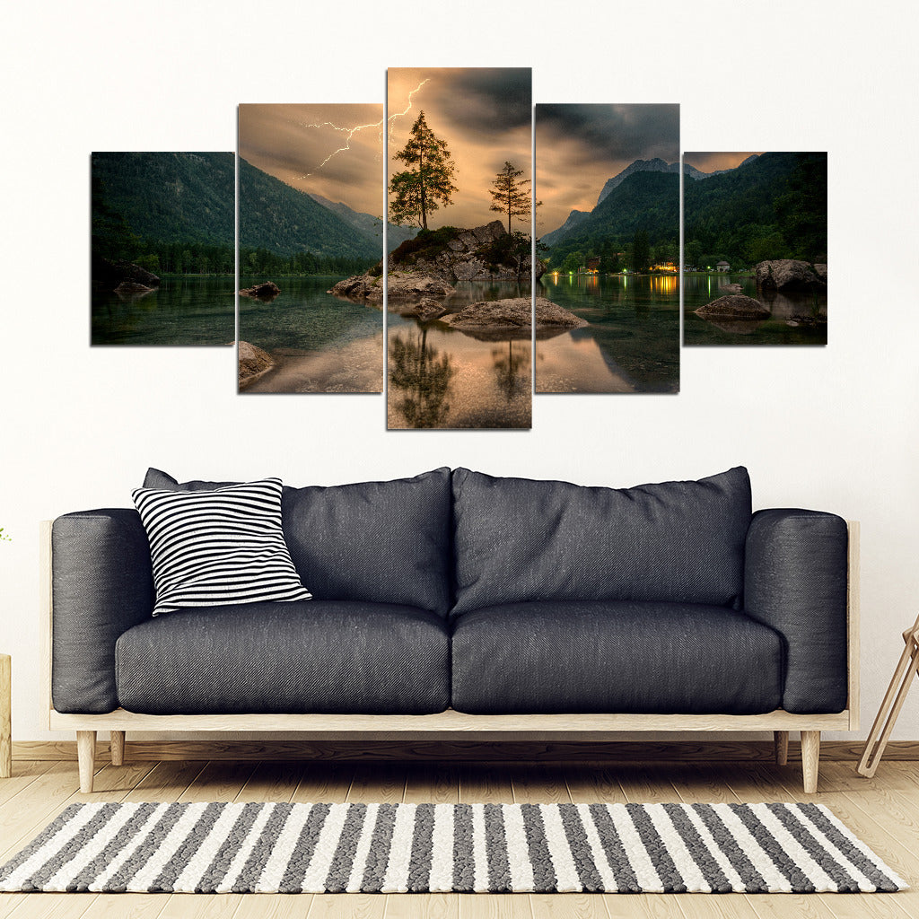 Nature Framed Canvas