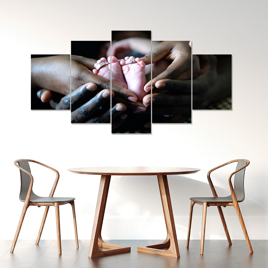 Amazing Mother Framed Canvas