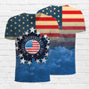Image of Independence Day 4th of July 3d T-Shirt