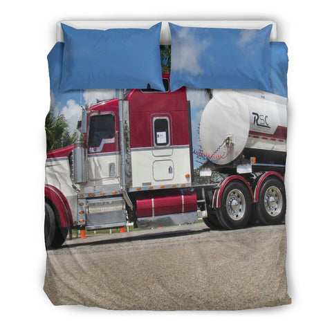 Dream about trucks every day Bedding Set