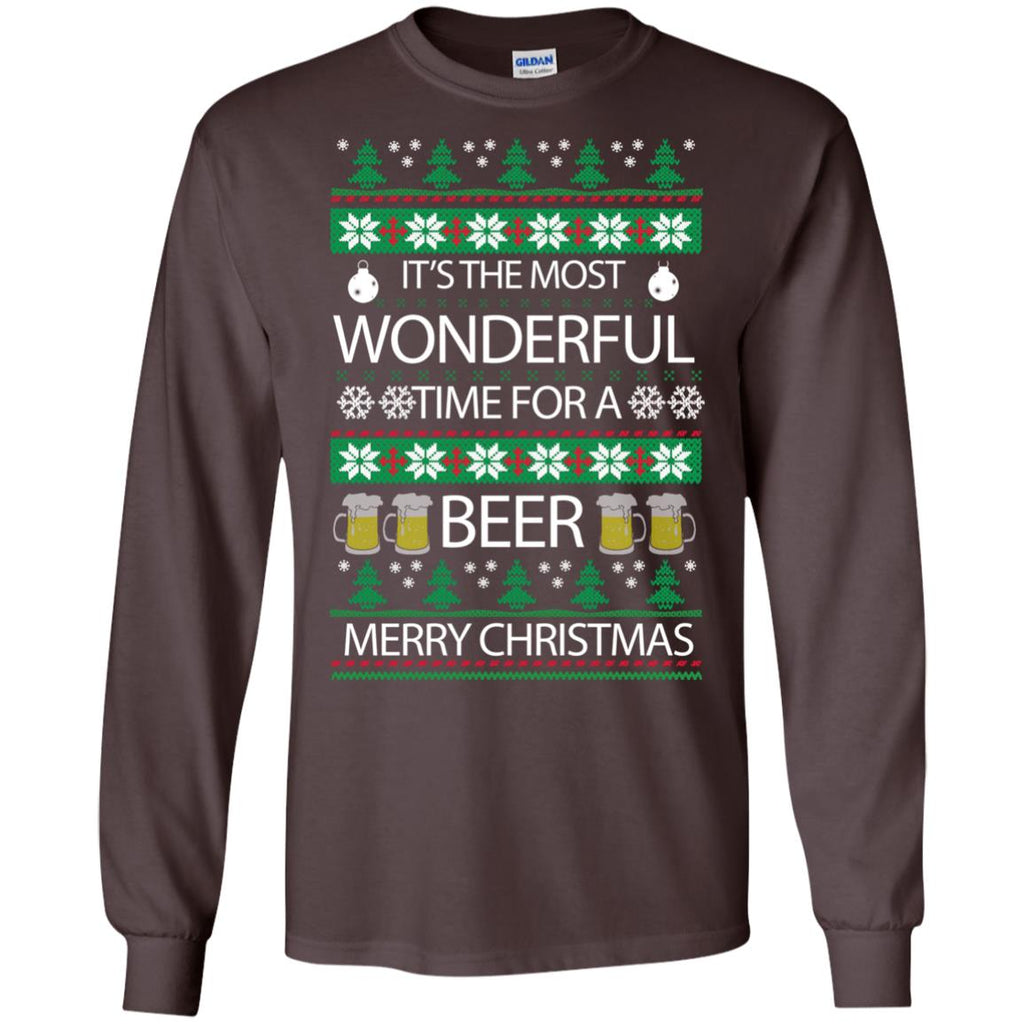 wonderful time for beer Long Sleeve
