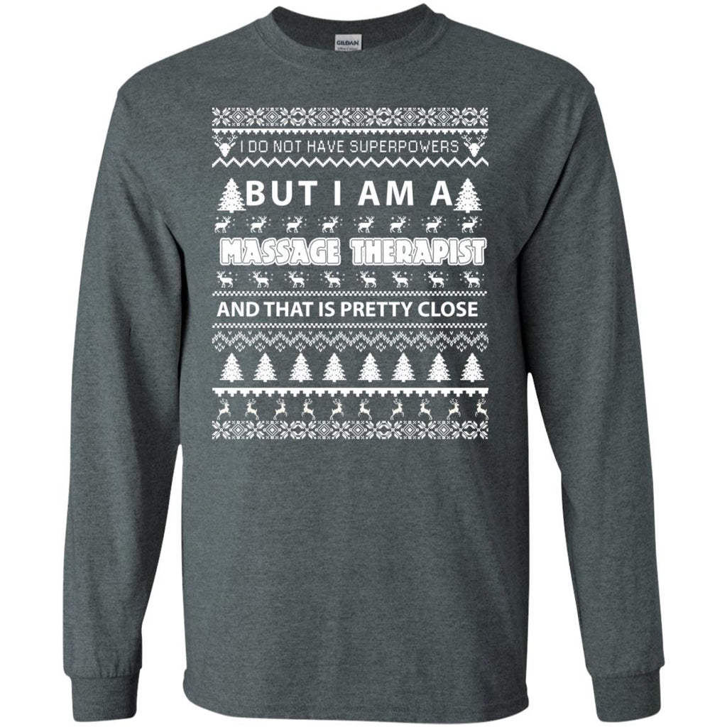 Merry Christmas Massage Therapist Long Sleeve