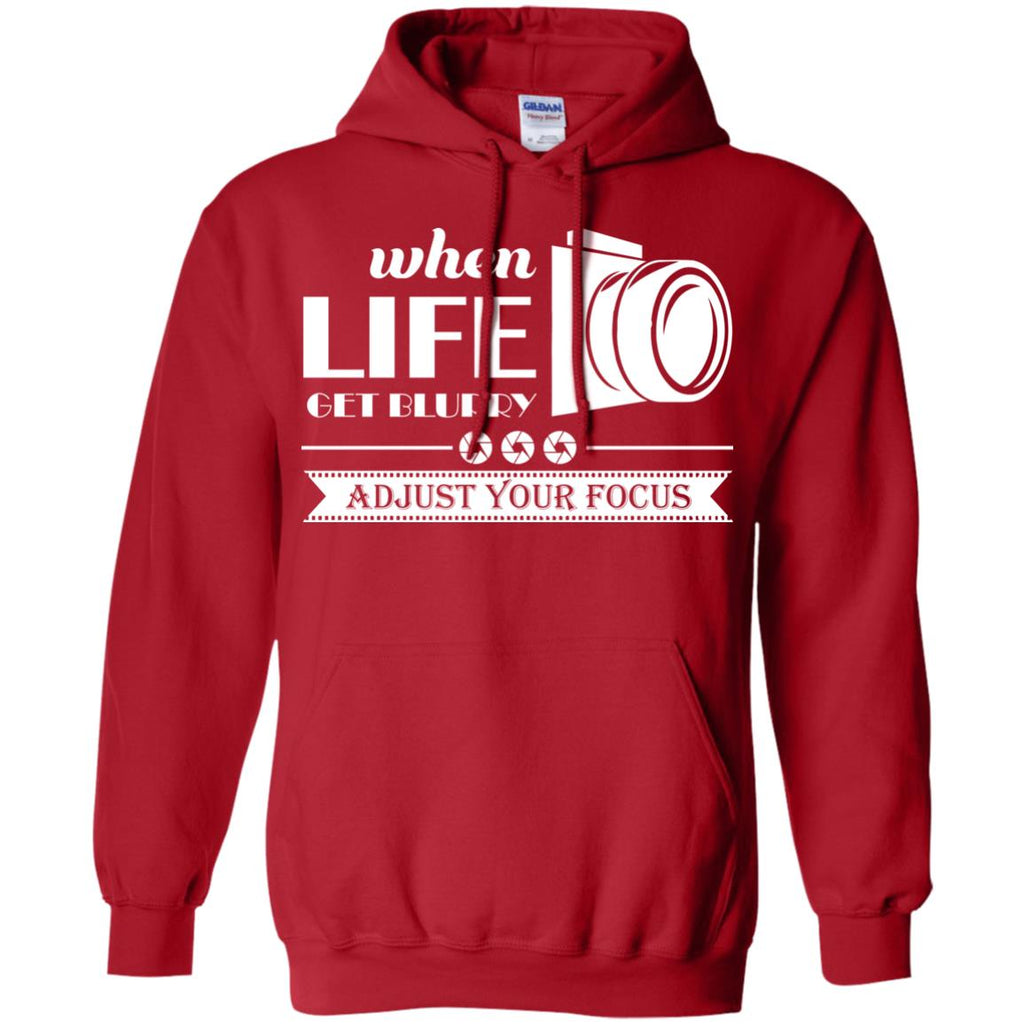 Adjust Your Focus Pullover Hoodie