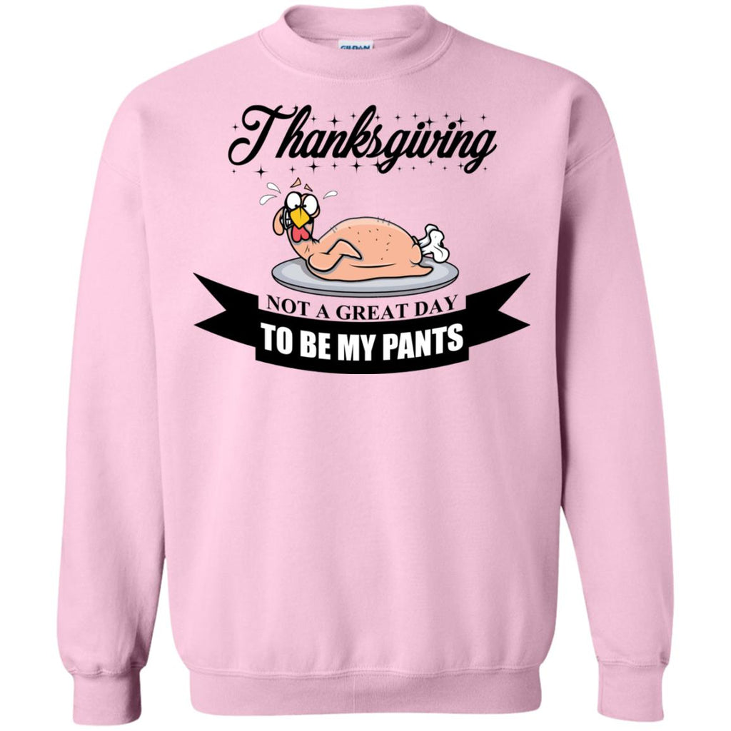 A funny Thanksgiving Crewneck Sweatshirt