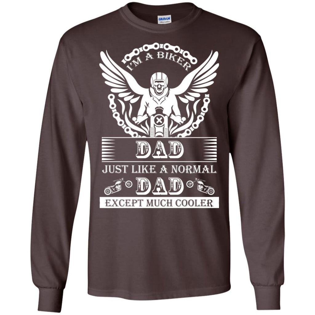 Men's Biker Dad 2 Long Sleeve