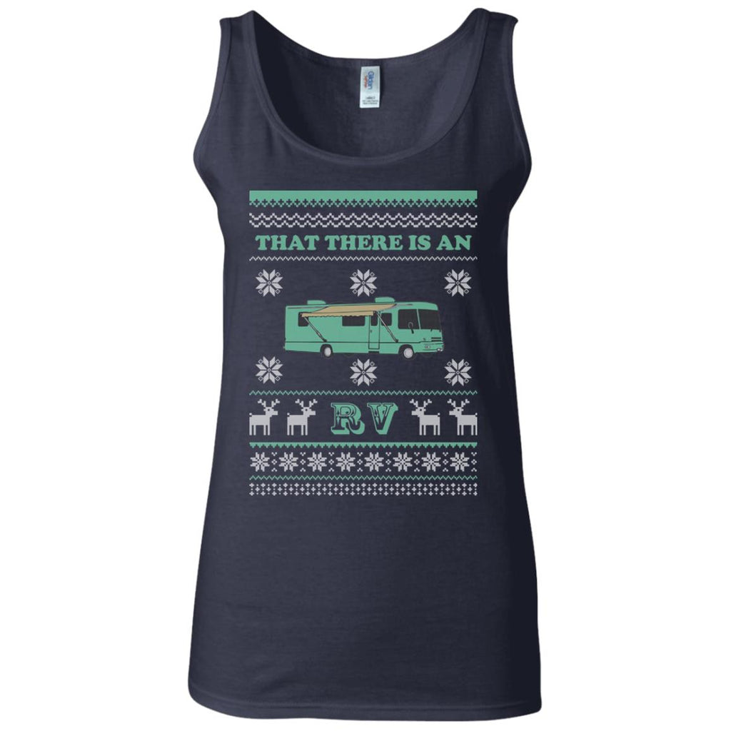 Christmas Vacation RV Women's Fitted Tank