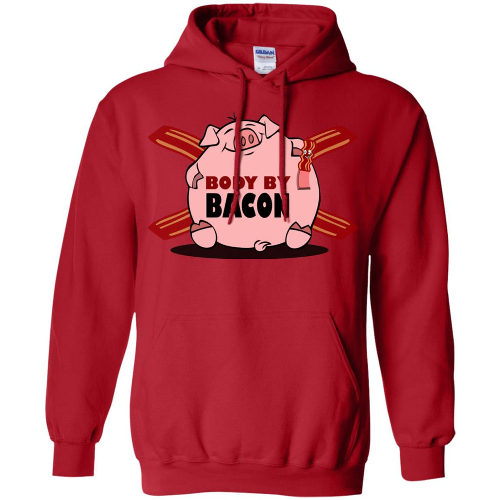 Body by Bacon Pullover Hoodie