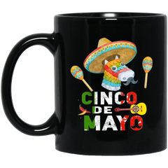 Cinco de mayo Black Mug