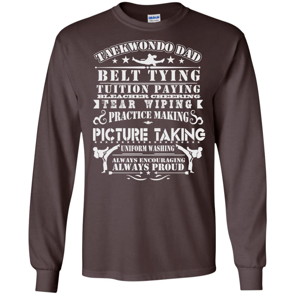 Taekwondo Dad Long Sleeve