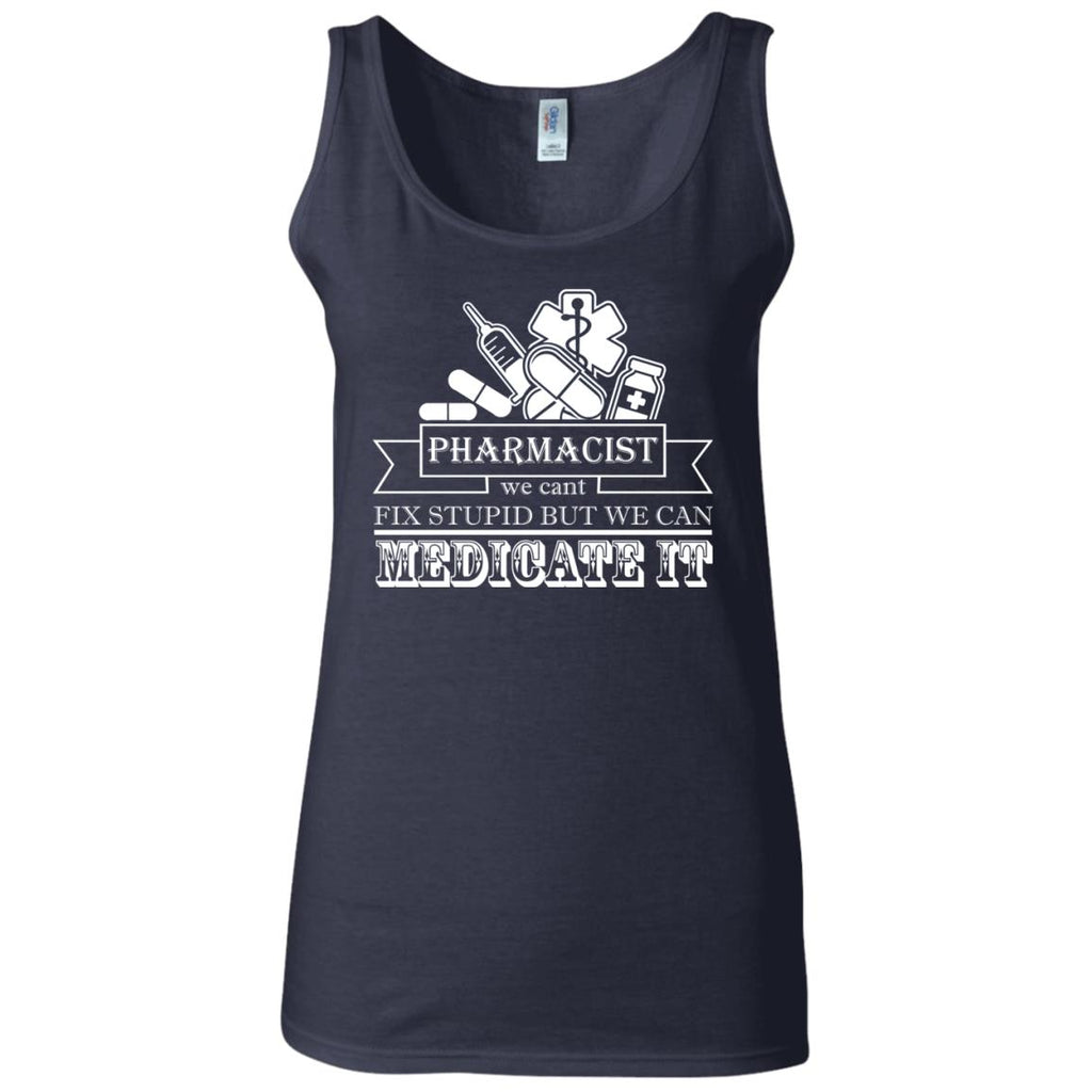 Pharmacist Women's Fitted Tank