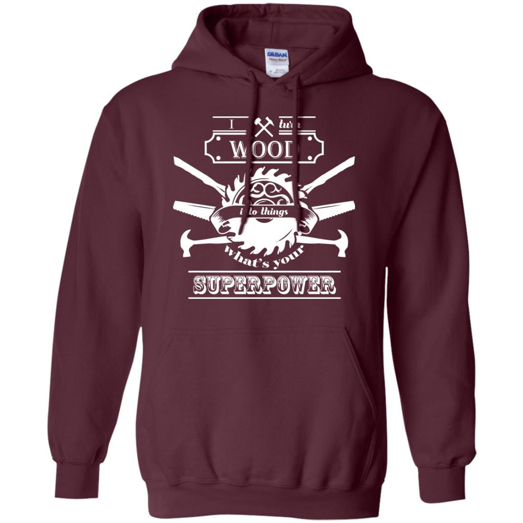 Carpenters Sawdust and Glitter for wood handmade men Pullover Hoodie