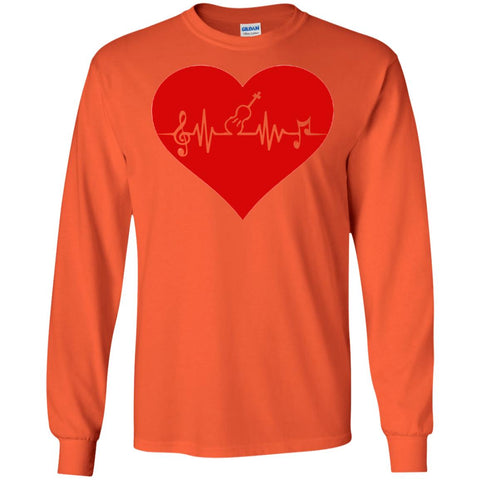Violin Heartbeat Long Sleeve