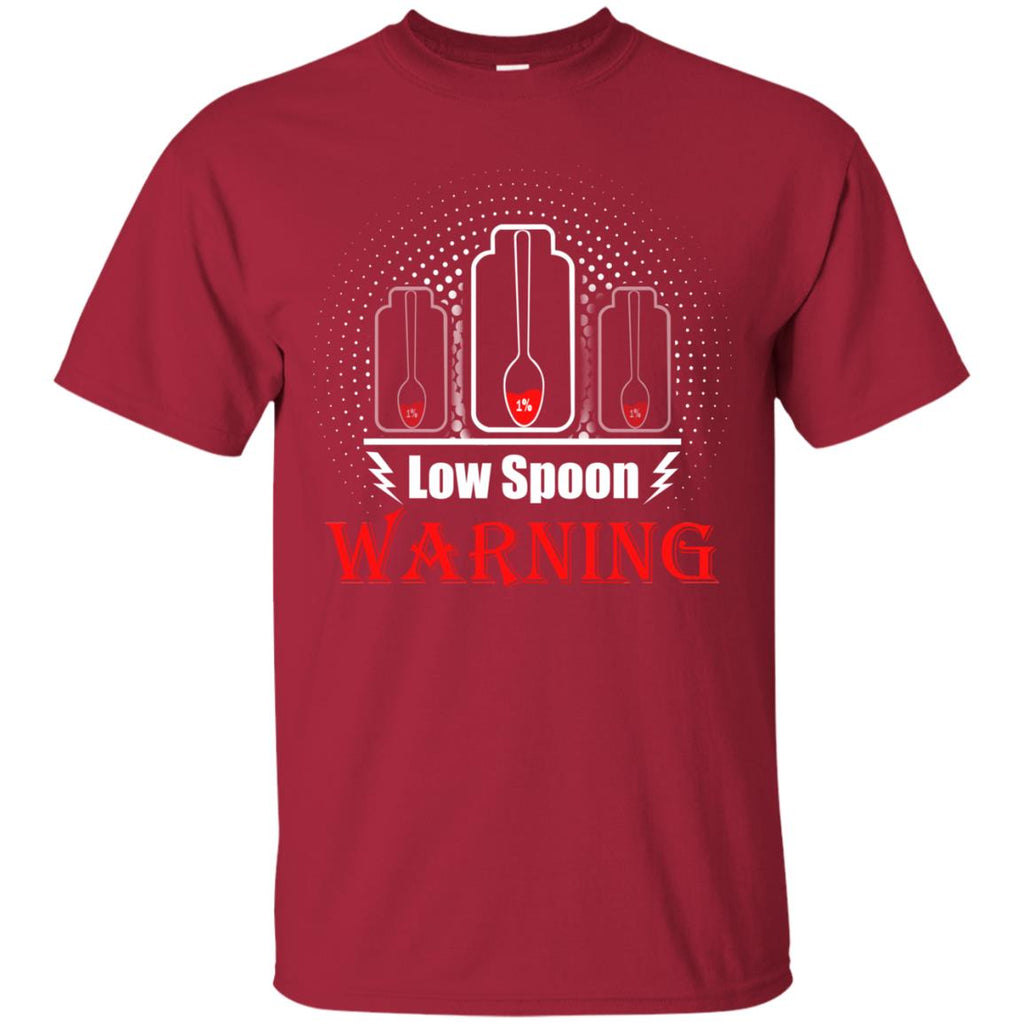 Low spoon warning Unisex T-Shirt