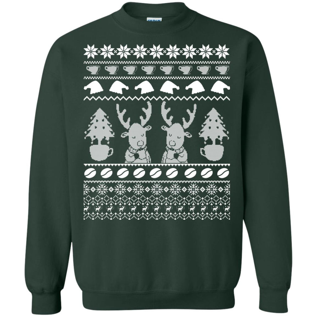 CHRISTMAS COFFEE Crewneck Sweatshirt