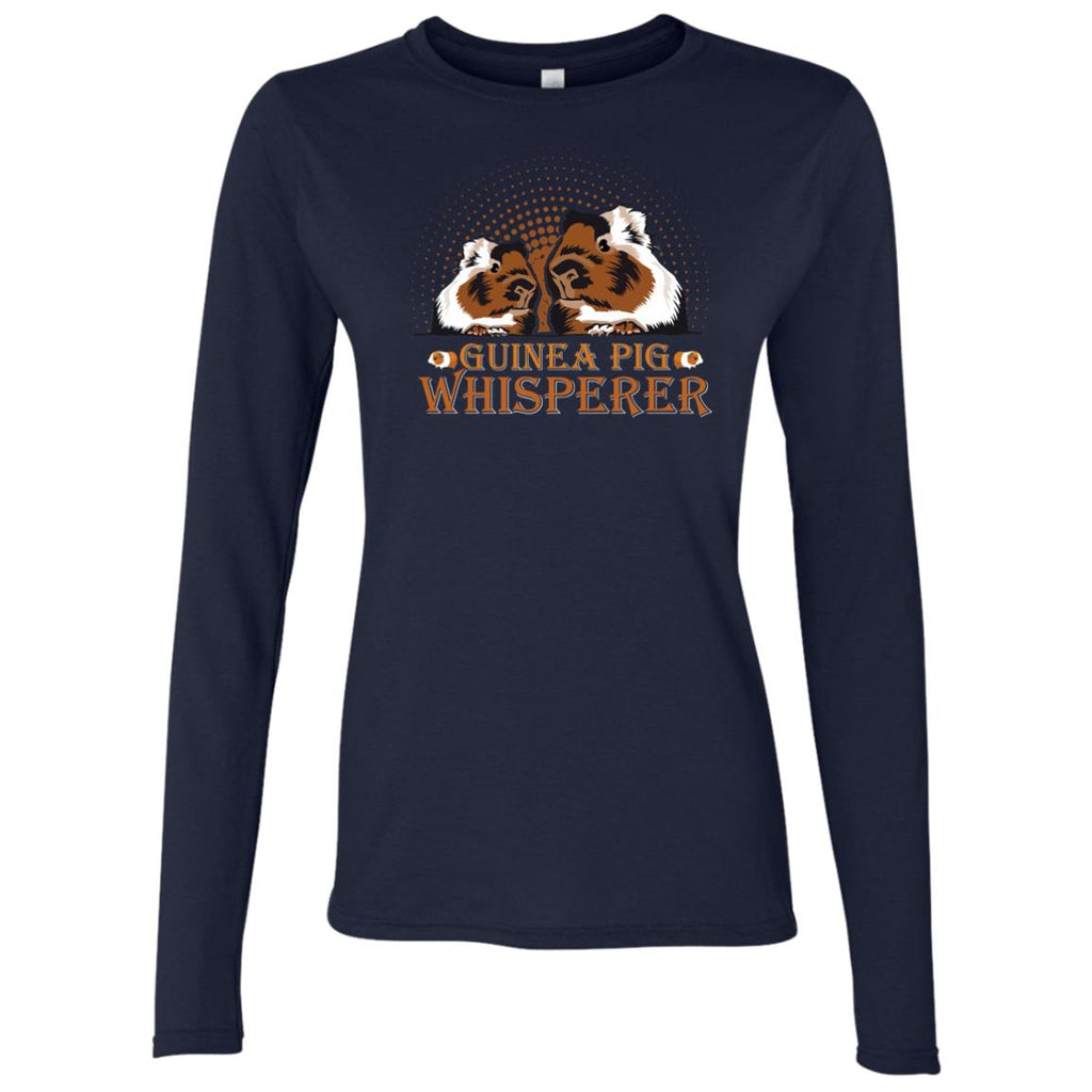 Guinea Pig Whisperer Women's Long Sleeve