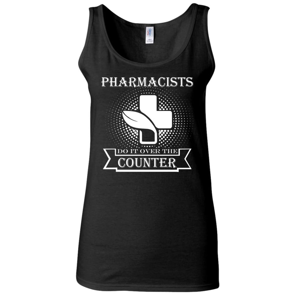 Pharmacists do it over the counter Women's Fitted Tank