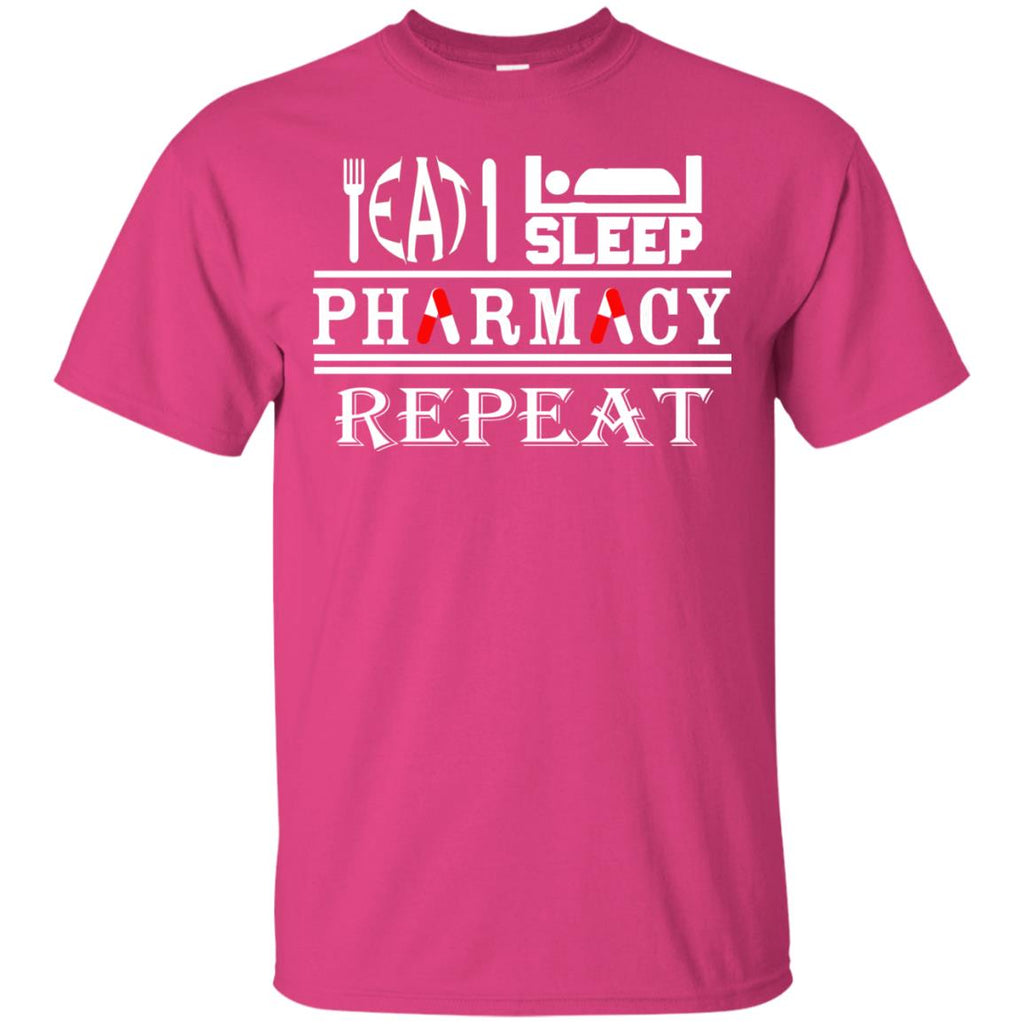 Eat Sleep Pharmacy Repeat Unisex T-Shirt