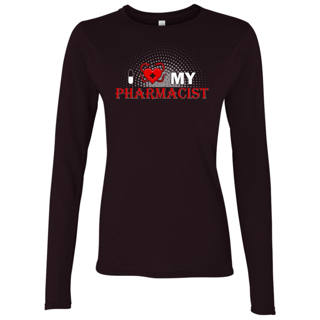 I Love My Pharmacist Women's Long Sleeve