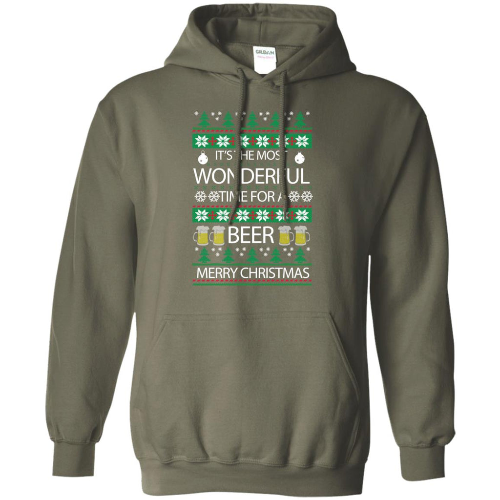 wonderful time for beer Pullover Hoodie