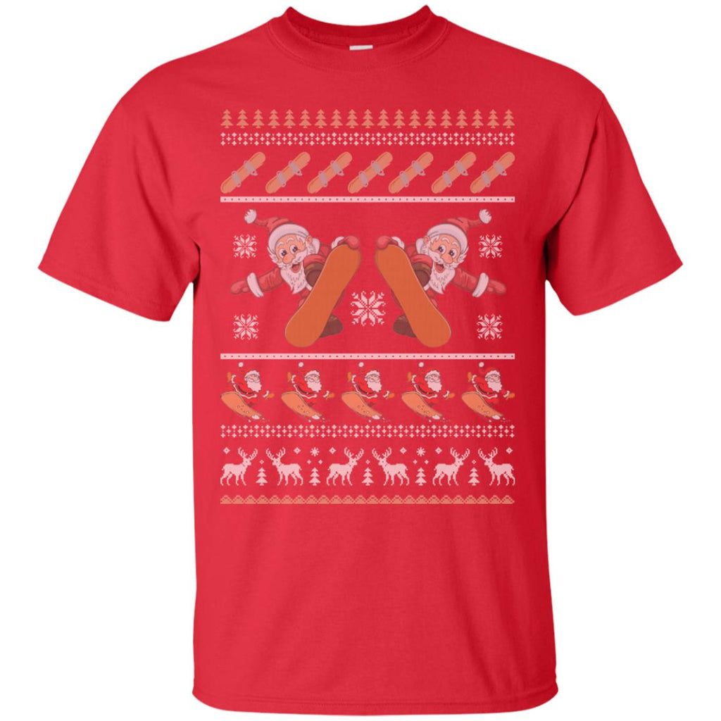 Snowboard Ugly Christmas Sweater Unisex T-Shirt