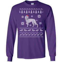 Ugly Christmas Sweater saluki Long Sleeve
