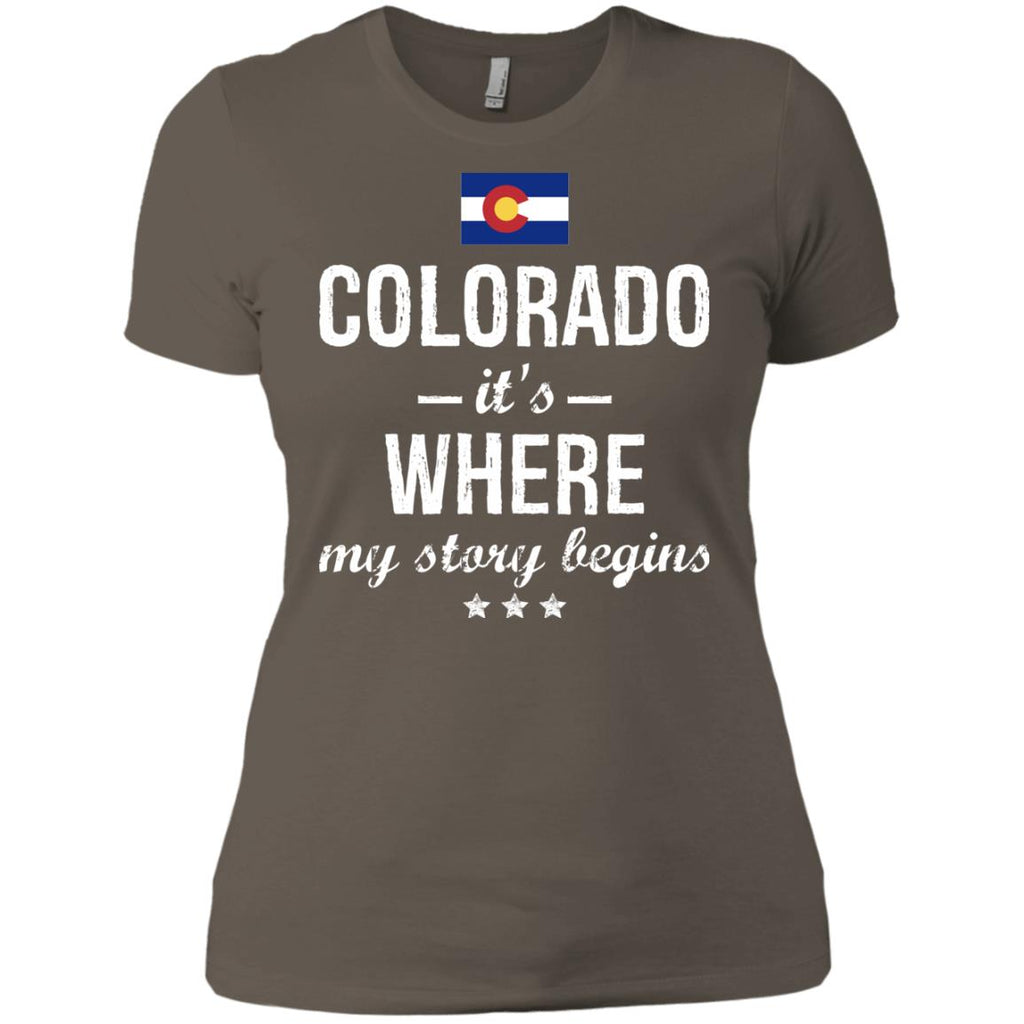 Colorado IT'S WHRE MY STORY BEGINS Classic T-Shirt