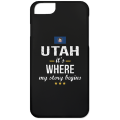 Utah IT'S WHRE MY STORY BEGINS Classic iPhone 6 Case