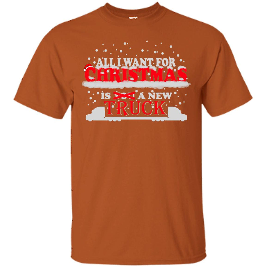 All I Want for Christmas is a New Truck 2 Unisex T-Shirt