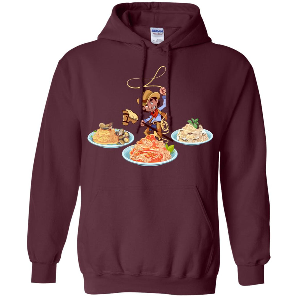 Spaghetti Western Pullover Hoodie