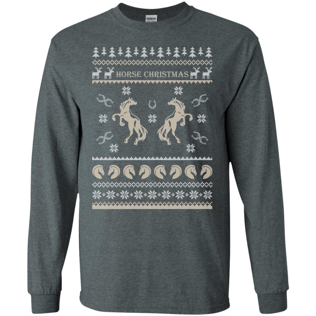 Horse Christmas Long Sleeve